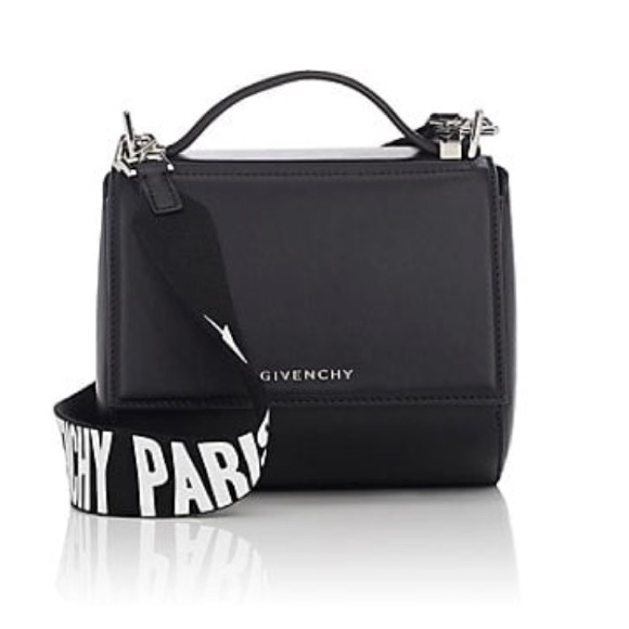 568af498eab1 😎Givenchy Pandora box mini bag with logo strap😎